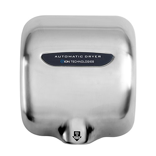 OION Technologies Industrial Stainless Steel High Speed Automatic Hand Dryer DR-3000HD 1800 Watts