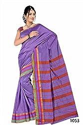 Purva Art Fancy Cotton Base Silk Saree