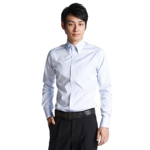 (フェアファクス)FAIRFAX ピンオックスB・Dシャツ 5018 13 サックス 42