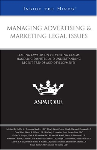 Legal aspects in marketing