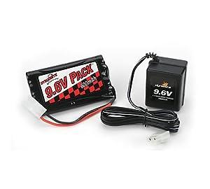 Dynamite 9.6V 600mAh NiCd Battery/Charger Combo