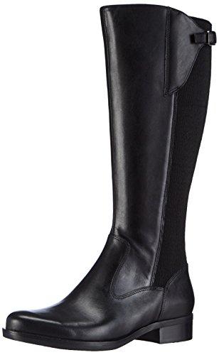 ECCO ADEL, Damen Langschaft Stiefel, Schwarz (BLACK/BLACK), 39 EU (6 Damen UK)