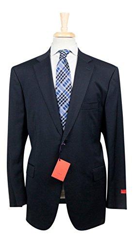 isaia-navy-blue-aquaspider-wool-2-button-suit-size-60-50-reg