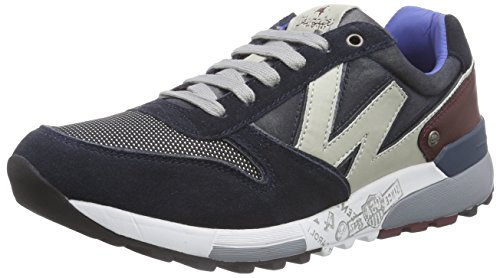 Wrangler Sunday, Low-Top Sneaker uomo, Blu (Blau (16 Navy)), 42