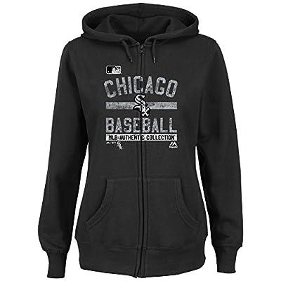 Chicago White Sox Women's Hoodie Full Zip Hooded Fleece