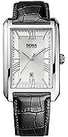 Boss - 1513027 - Montre Homme - Quartz Analogique - Bracelet Cuir Noir