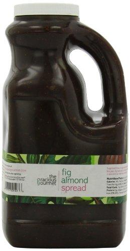 The Gracious Gourmet Fig Almond Spread, 76-Ounce
