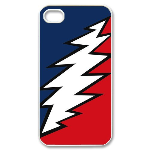 Generic Cell Phones Cover For Apple Iphone 4S Case Iphone 4 Case Customize Music Band Grateful Dead And Dancing Bears Hard Snap On Phone Cases front-908554