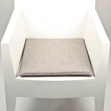 hey sign frisbee sitzkissen hellgrau melliert 40x40cm. Black Bedroom Furniture Sets. Home Design Ideas