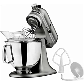 KitchenAid KSM150PS Artisan 5-Quart Stand Mixer (Liquid Graphite)
