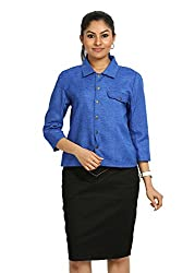 Fbbic Women's Jacket (16141_Small_Blue)