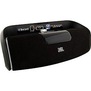 JBL On Beat AwakeEnceinte Audio Bluetooth avec Station d'Accueil pour iPhone 3G, 3GS, 4, 4S, iPod Touch 4 and iPod Nano 6 - Noir - Livré avec Prise Française et Anglaise