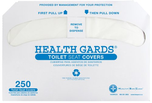 Health Gards Toilet Seat Covers 1000 per case (Health Cover compare prices)