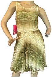 Betsey Johnson Women's Sage Lace Dress