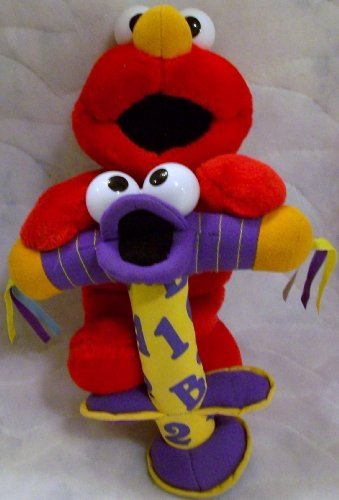 Fisher Price Jump And Learn Elmo Plush Doll Toy front-785813