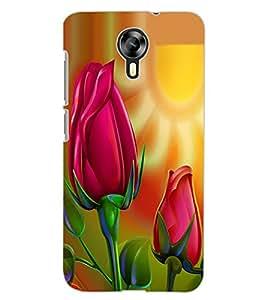 ColourCraft Love Flowers Design Back Case Cover for MICROMAX CANVAS XPRESS 2 E313