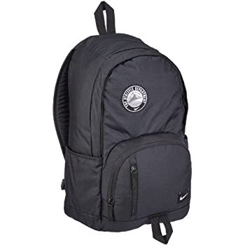 NIKE BACKPACK SCHOOL UNIVERSITY GYM TRAVEL SPORT BLACK BACKPACK BAG 27 LITERS