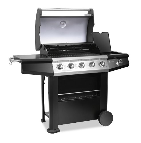 Banquet 5 Burner Gas Barbecue with Side Burner