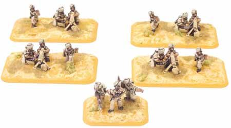 British: Machine-gun Platoon (Indian)