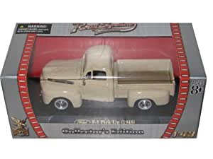 1948 Ford F-1 Pick Up Cream 1/43 Diecast Car Model by Road Signature
