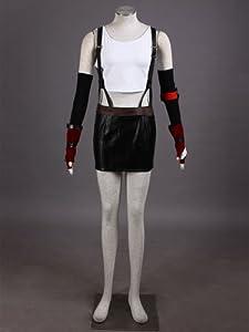 Final Fantasy VII Tifa Lockhart Second Edition Cosplay Costume Size S