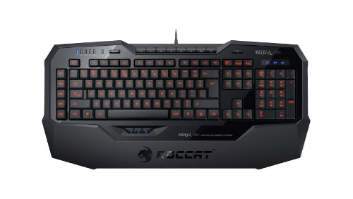 Roccat Isku Fx Multicolor Key Illuminated Gaming Keyboard, Black