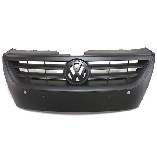 VW Volkswagen Passat CC 2009–2011Front-Grill, matt Schwarz
