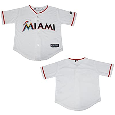 MLB Miami Marlins Youth Dri-Fit Baseball Jersey / Embroidered Logo