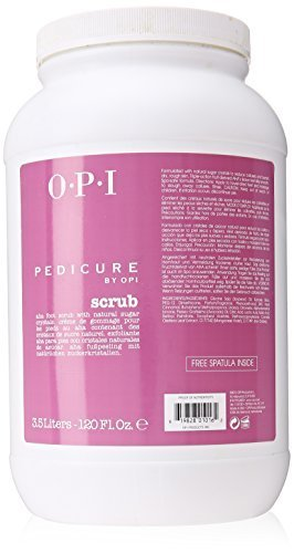 OPI Pedicure Scrub Mask for Unisex, 120 Ounce by OPI