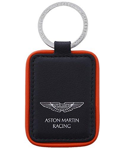 Hackett Uomo Aston Martin Racing portachiavi Nero Unica Taglia