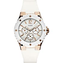 Guess W10614L2 Ladies Sport OVERDRIVE White Watch