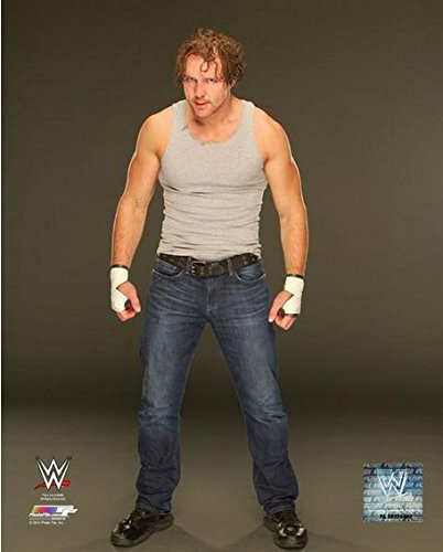 Dean Ambrose 2014 WWE Posed Studio Photo (Size: 8