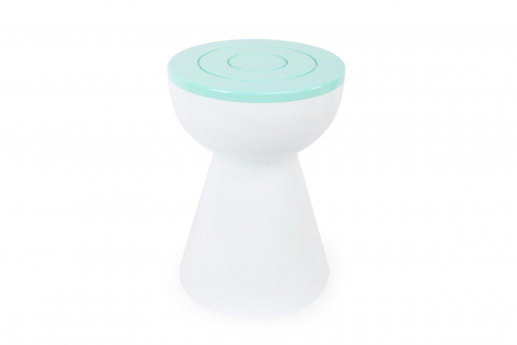 Hocker Boto von XLBoom in weiß/breeze kaufen