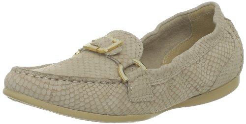 Rockport DEMISA ENAMEL KEEPE DOESKIN Moccasins Womens Beige Beige (DOESKIN) Size: 5.5 (38.5 EU)