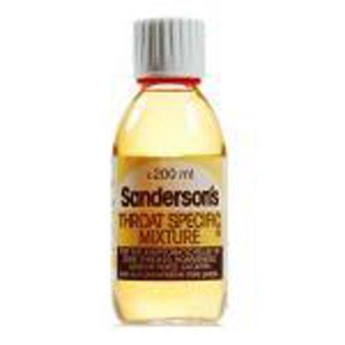 Sanderson's Throat Specific Mixture Rinse/Gargle - 200ml