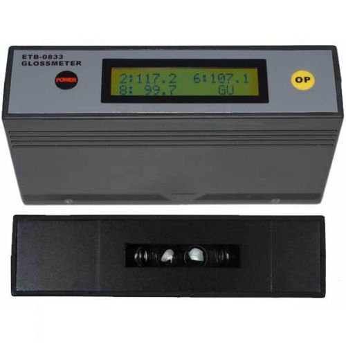 ETB-0833 Self-Calibration 20˚ 60˚ 85˚ Glossmeter Gloss Meter Tester 0-200Gu
