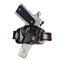 Galco Quick Slide Belt Holster, Black, Right Hand