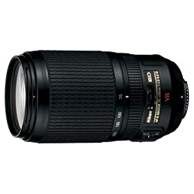 Nikon 70-300mm f/4.5-5.6G ED-IF AF-S VR Zoom Nikkor Lens for Nikon Digital SLR Cameras