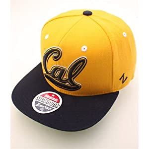 NCAA California Golden Bears Refresh Snapback Cap, Gold
