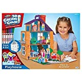 RoseArt 3D Create 'n Color Playhouse
