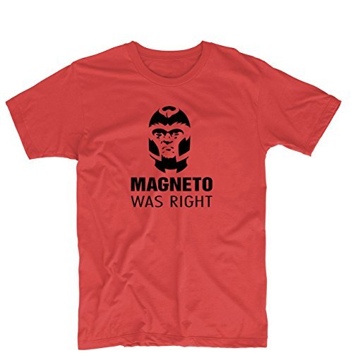 Magneto Was Right Max Eisenhardt X-Men Unisex Printing T Shirt Custom Tee