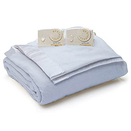 Biddeford Blankets 4103-903202-532 100 by 90-Inch Electric Blanket, King, Blue