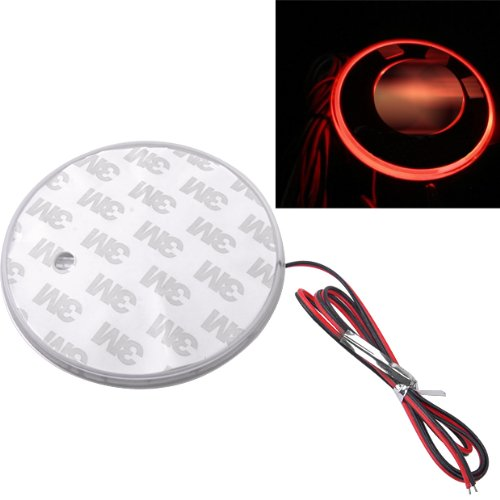 Red Led Car Decal Logo Light Badge Lamp Emblem Sticker 82Mm For Bmw 1 3 5 7 Series X3 X5 X6 Z4 M3