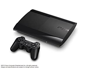SONY PlayStation3 PS3 Console 250GB | JAPAN MODEL |CECH-4000B LW Black (Japan Import) by Sony