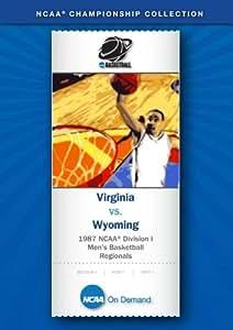 1987 NCAA(r) Division I  Men's Basketball Regionals - Virginia vs. Wyoming