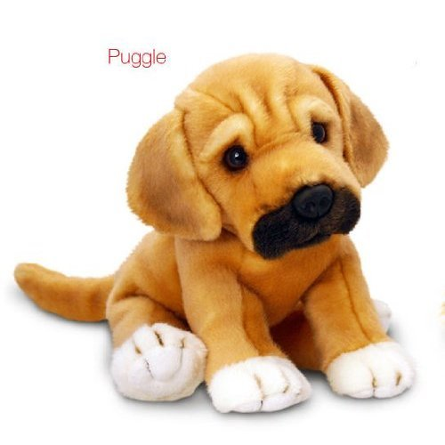 Keel Toys Logo Dog Soft Toy by Keel Toys