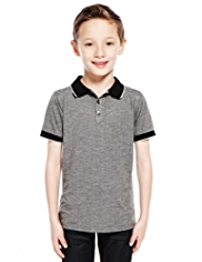 Autograph Jacquard Diamond Polo Shirt