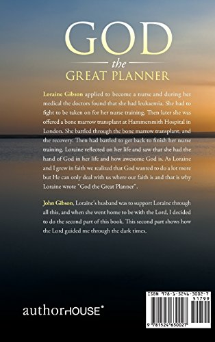 God the Great Planner: The Journey Home Daughter