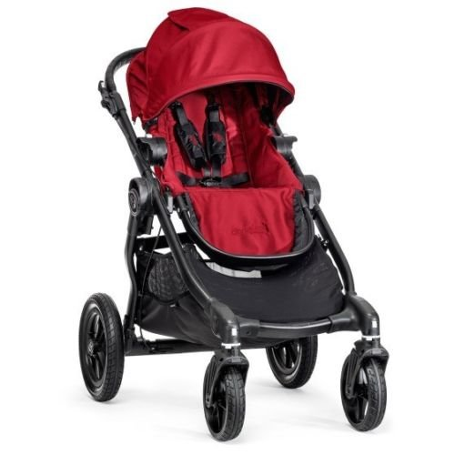 Baby Jogger City Select Single Stroller In Red front-48080