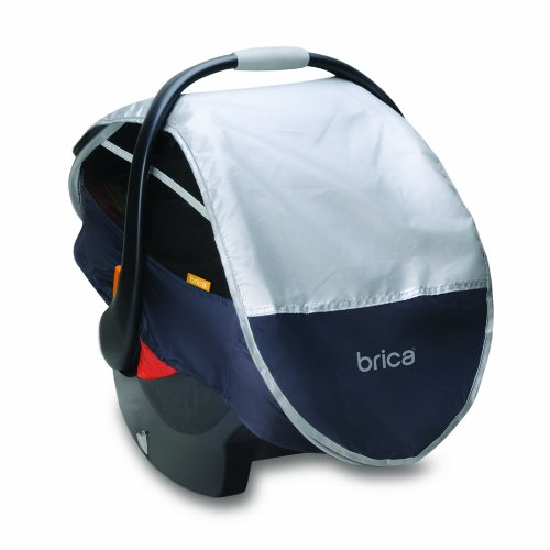 Brica-Infant-Comfort-Canopy-Car-Seat-Cover